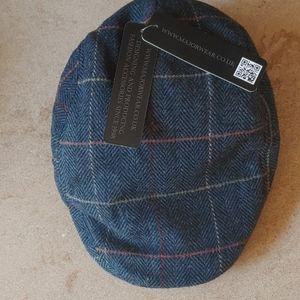 NWT Men's English Black Weaved Cap